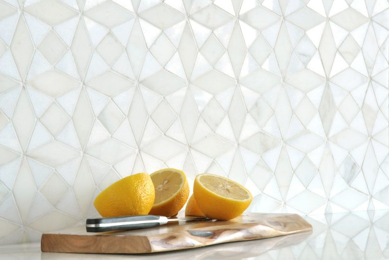 Esmeralda Mosaic Backsplash